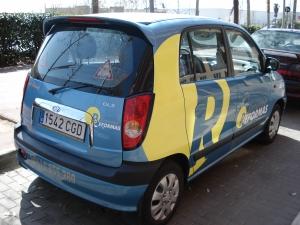 Rotulación de vehículos Málaga